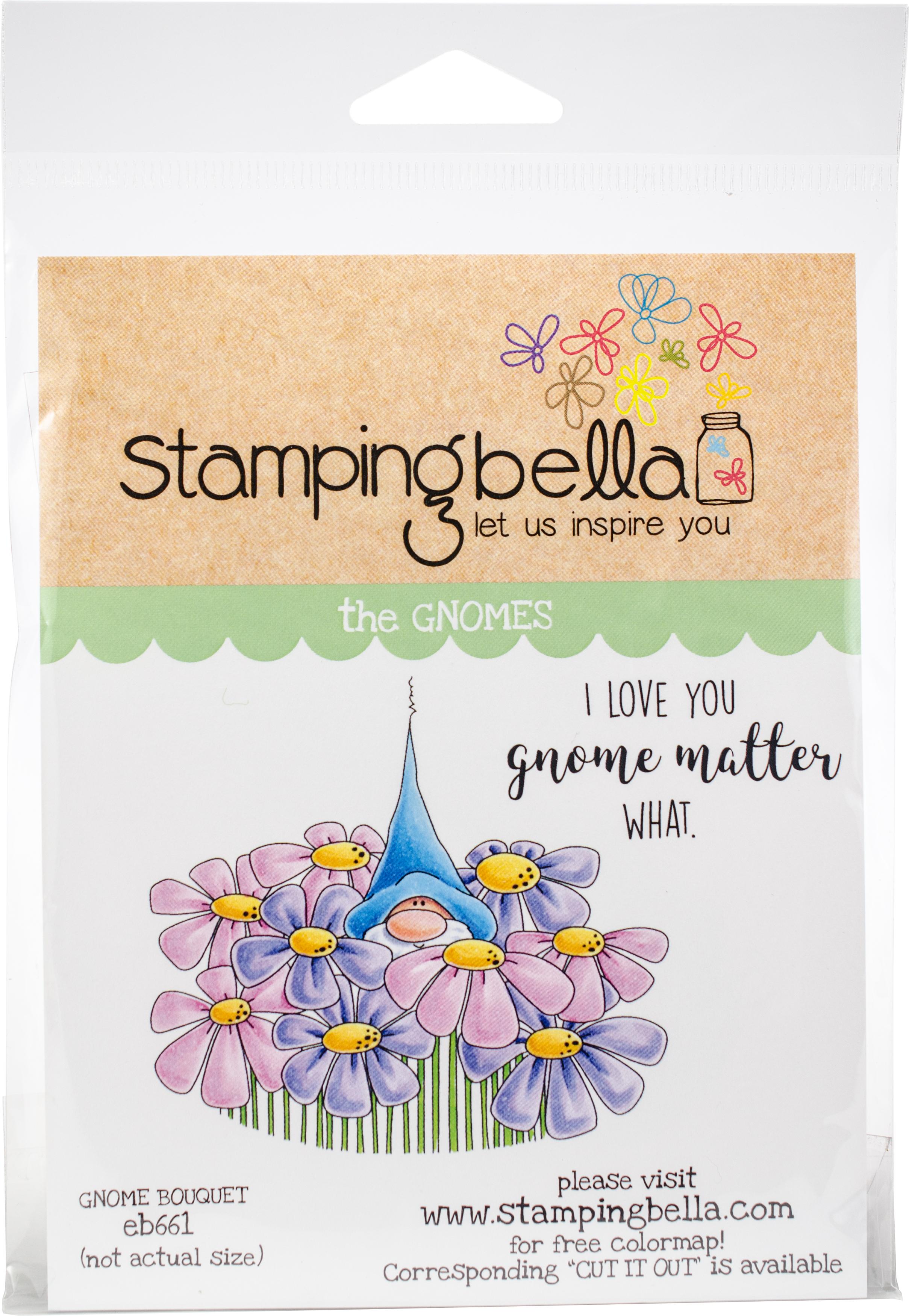 Gnome Bouquet Stamp Set