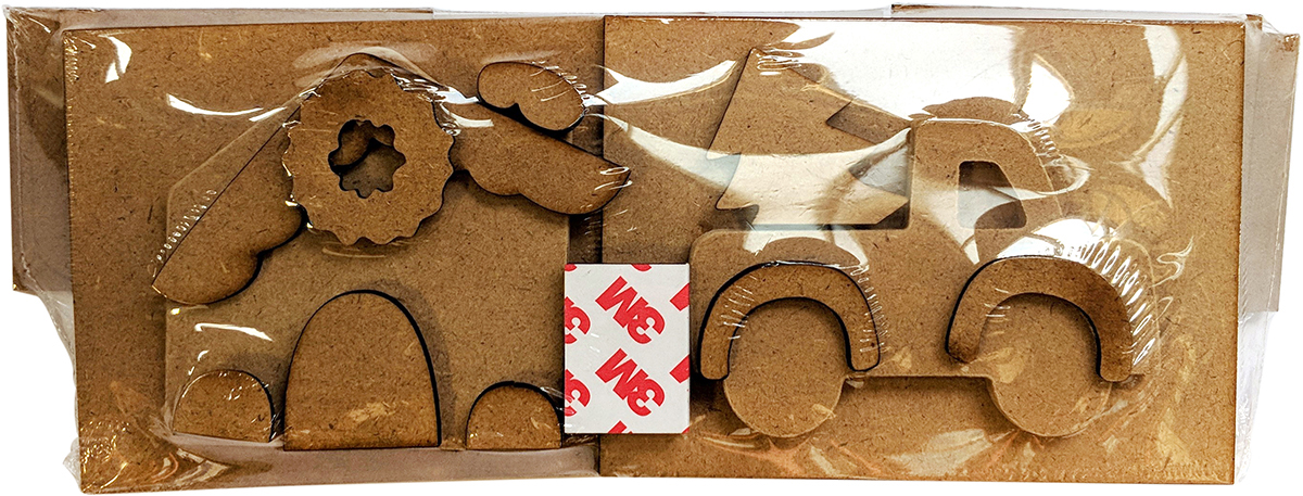 Christmas Shadowbox kit