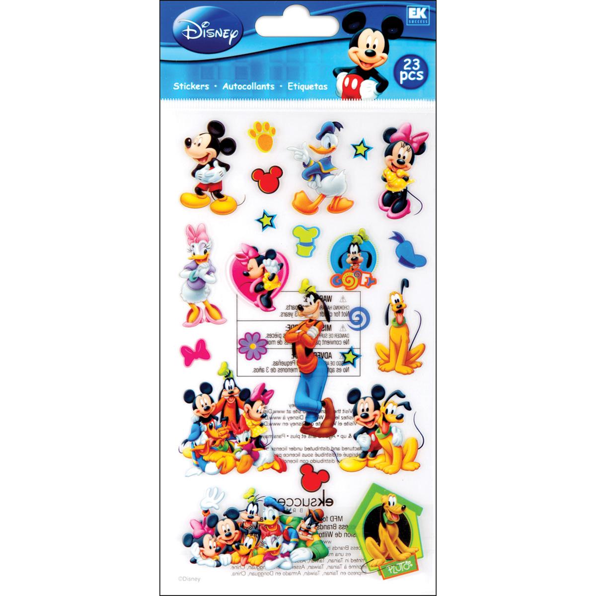 Disney Classic Stickers - Mickey & Friends