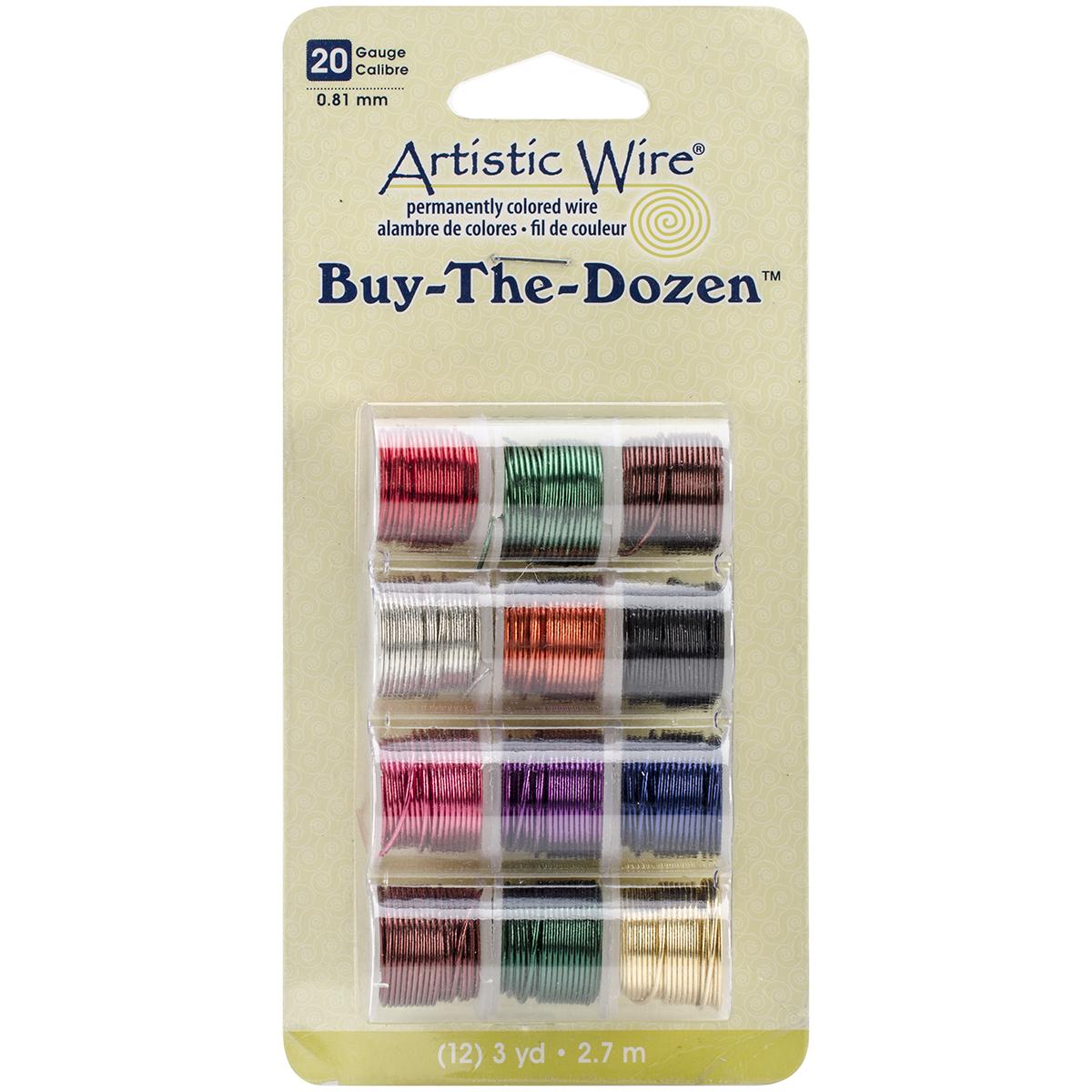 Artistic Wire Buy-The-Dozen 3yd 12/Pkg-20 Gauge