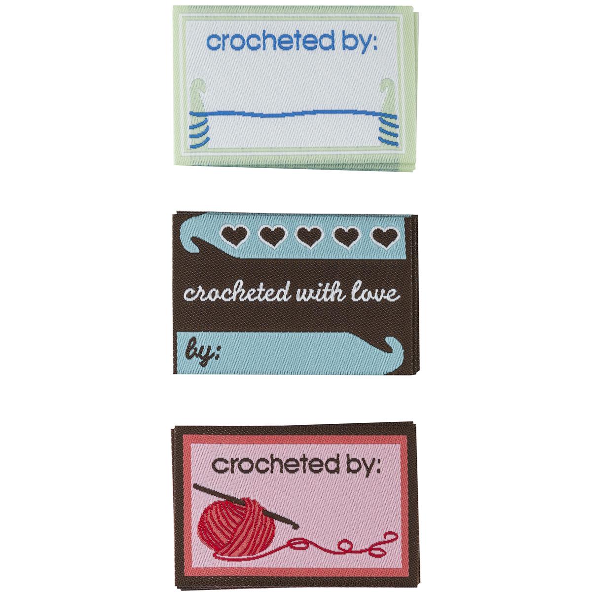 Garment Crochet  Labels (Boye)