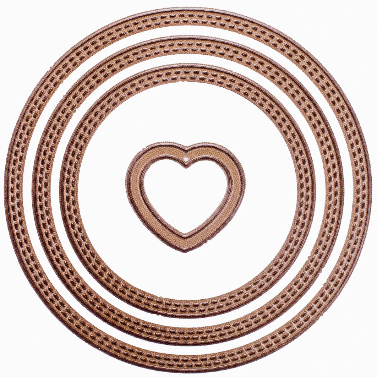 Gina K Designs 3 Nested Circle Dies-Small