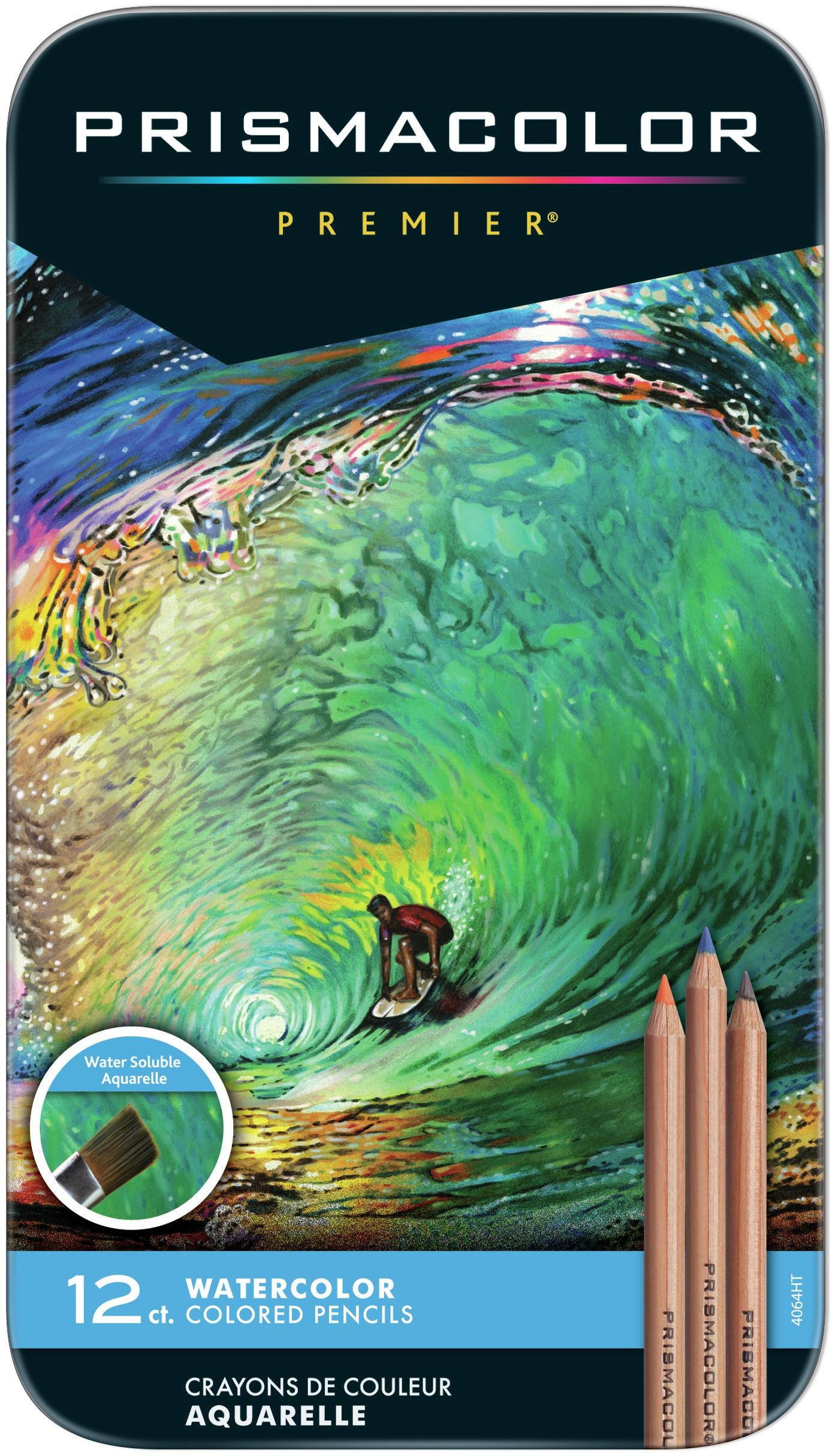 Prismacolor Water Color Pencils-12/pkg