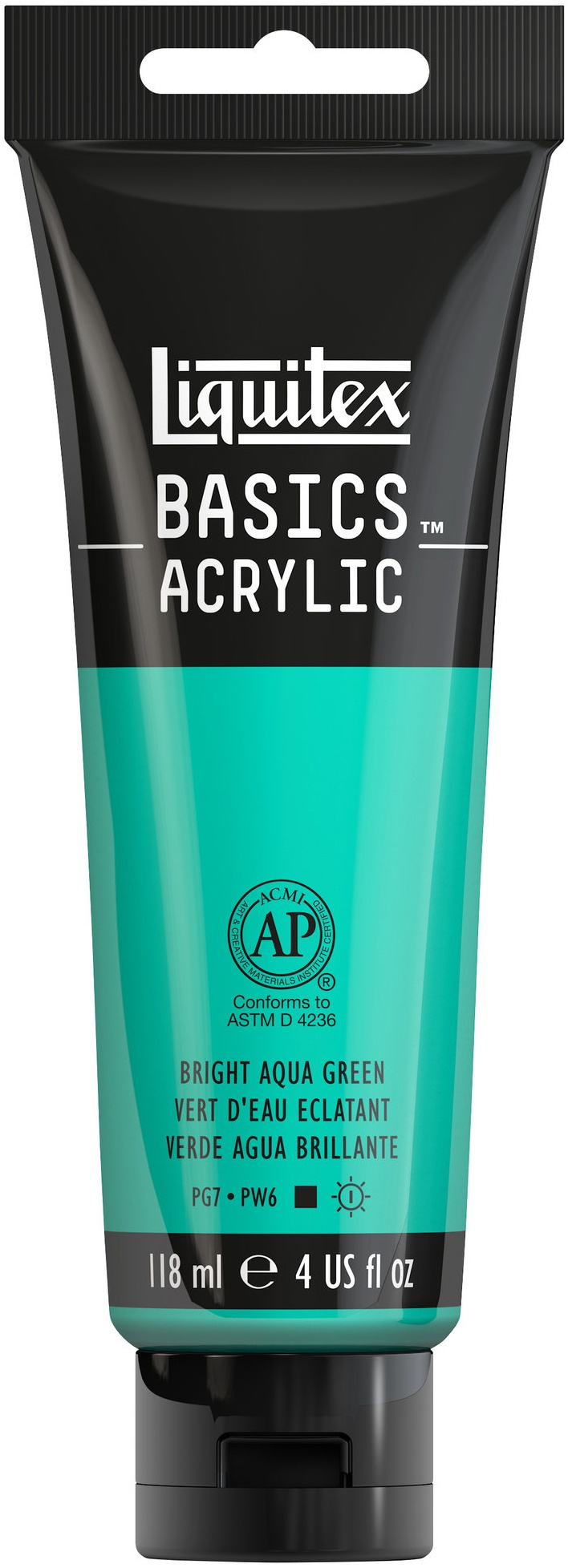Basics Bright Aqua Green