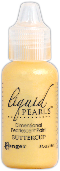 CLICK HERE TO SEE ALL! - Liquid Pearls Dimensional Pearlescent Paint .5oz-Marigold