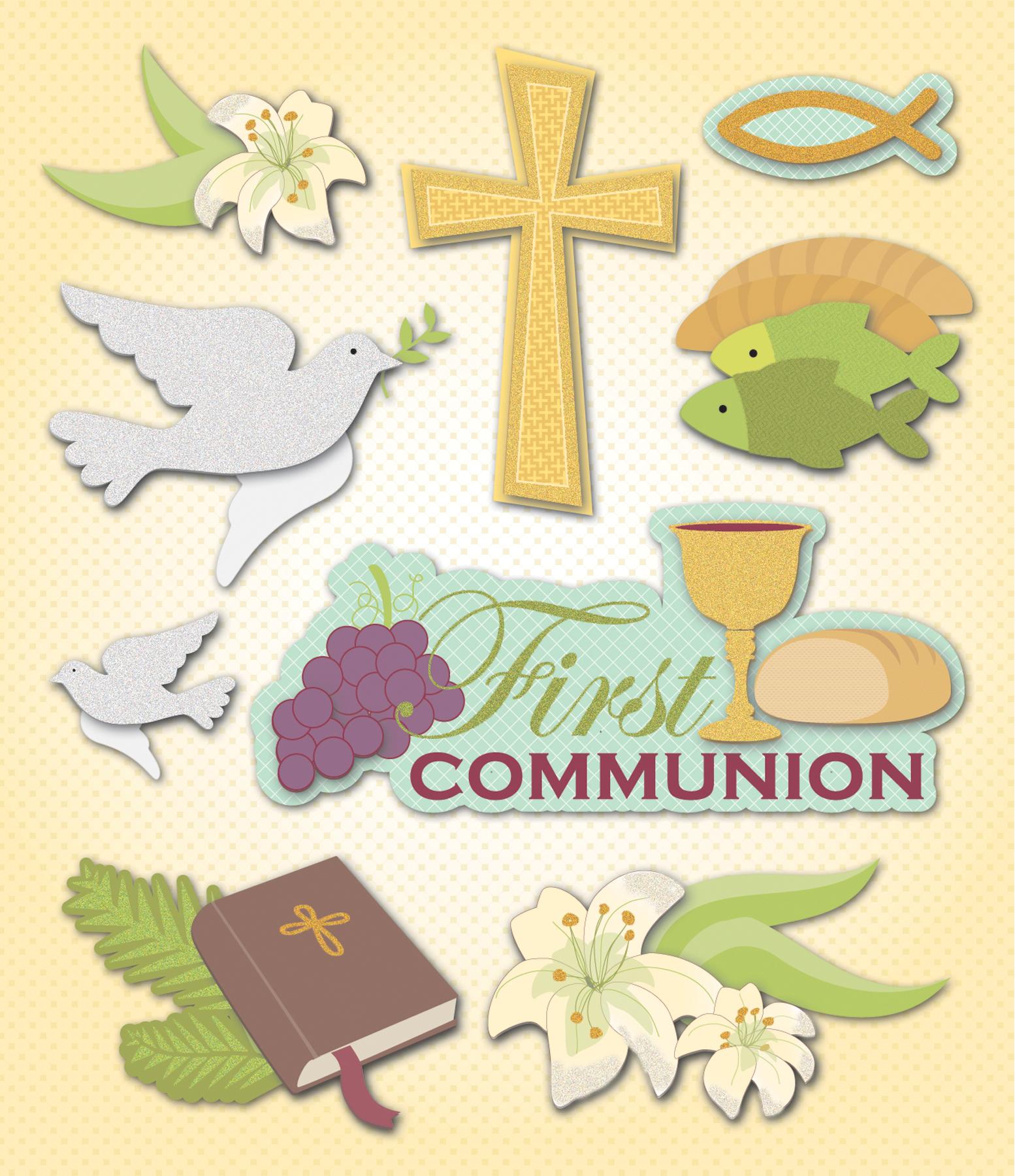 1st Communion-Sticker Medley