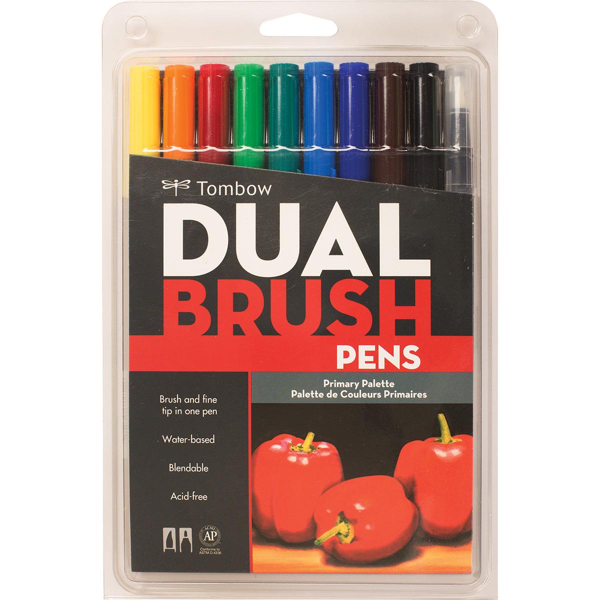 Tombow Dual Brush Primary