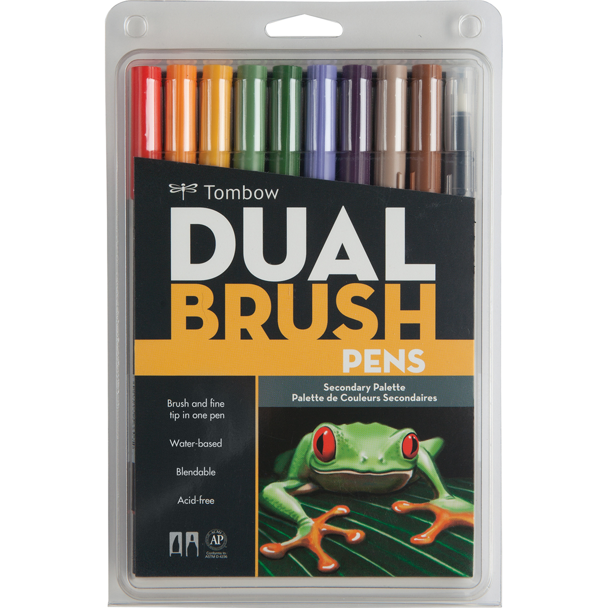 Tombow Dual Brush Secondary Palette