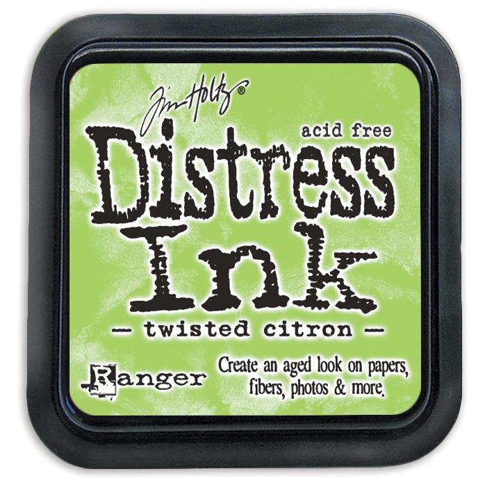 Tim Holtz Distress Ink Pad-Twisted Citron