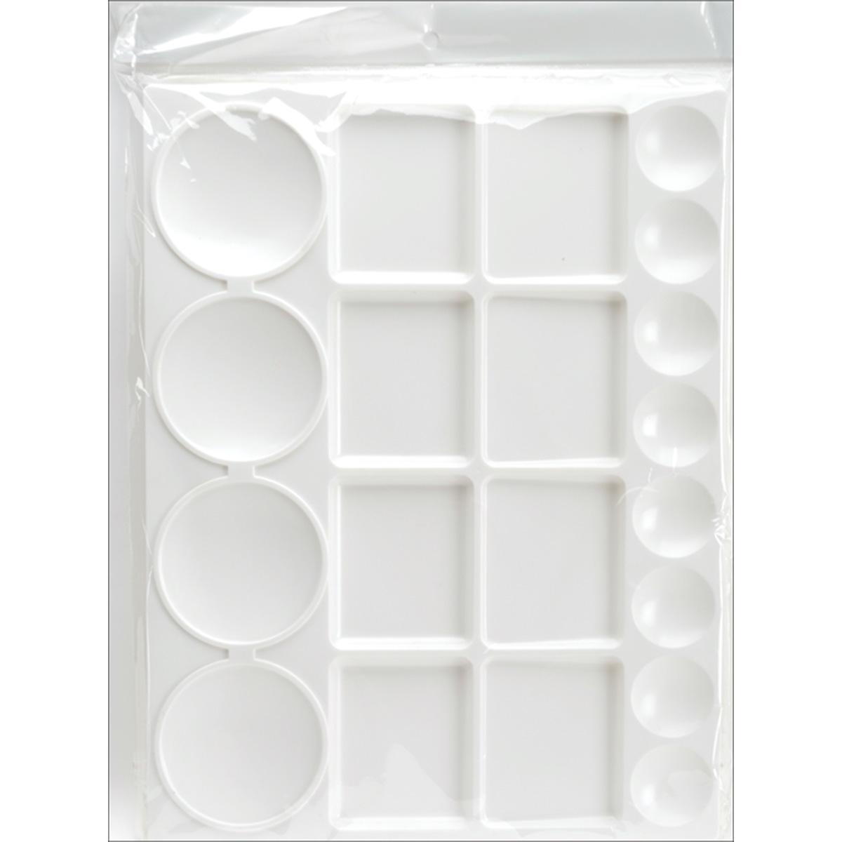 Pro Art Plastic Palette-13X10 - 20 Cavity