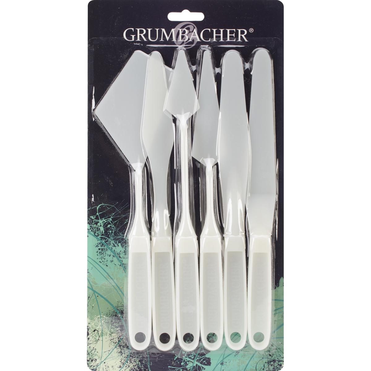 Grumbacher Palette Knives 6/Pkg-