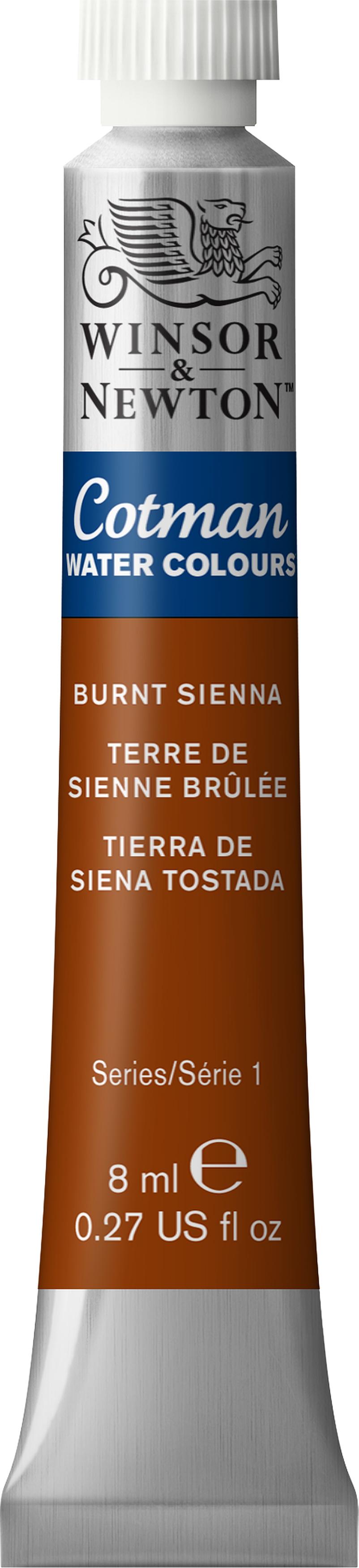 Winsor & Newton Cotman Water Colours 8ml-Burnt Sienna