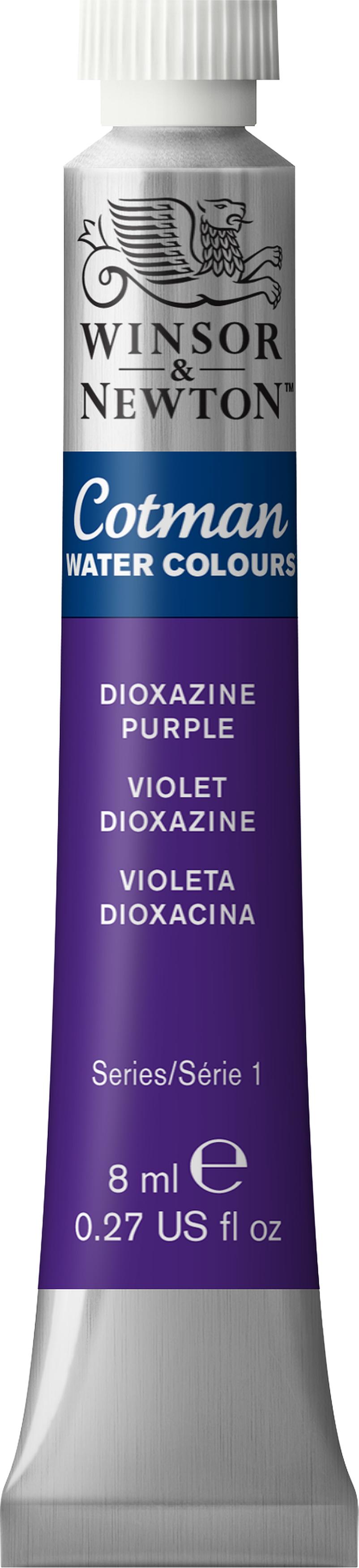 Winsor & Newton Cotman Water Colours 8ml-Dioxazine Violet