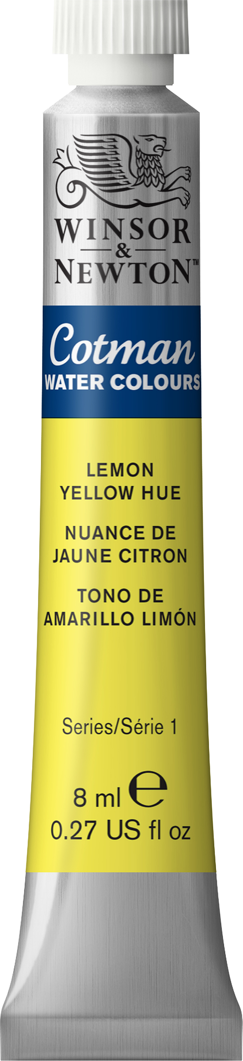 Winsor & Newton Cotman Water Colours 8ml-Lemon Yellow Hue