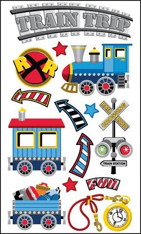 Classic Train Stickers