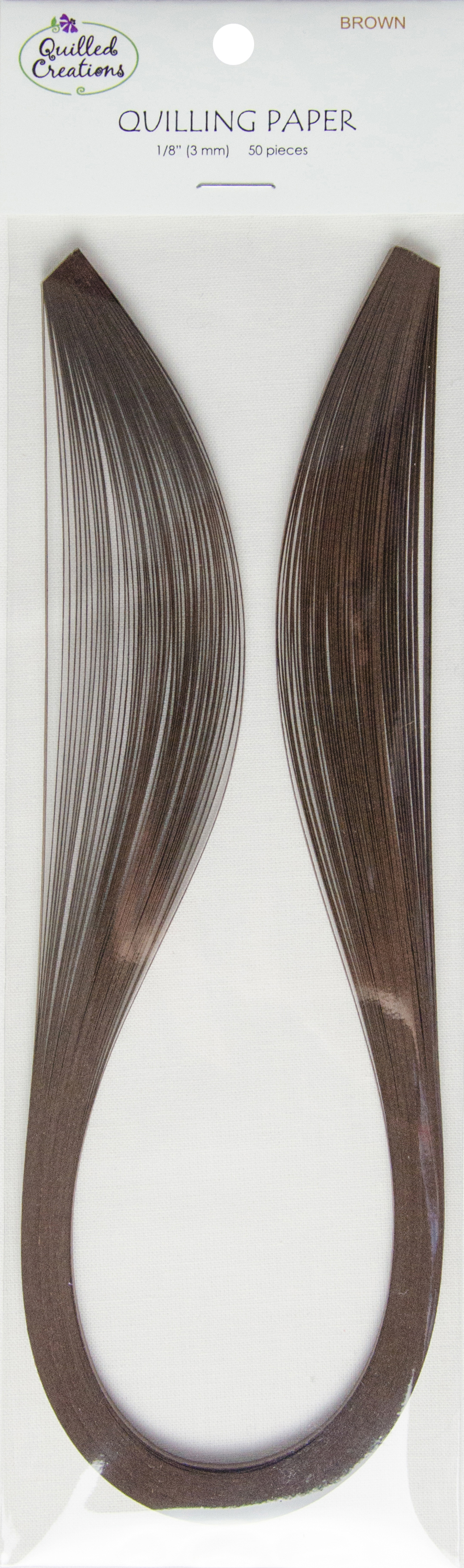 Quilling Paper 1/8 Brown