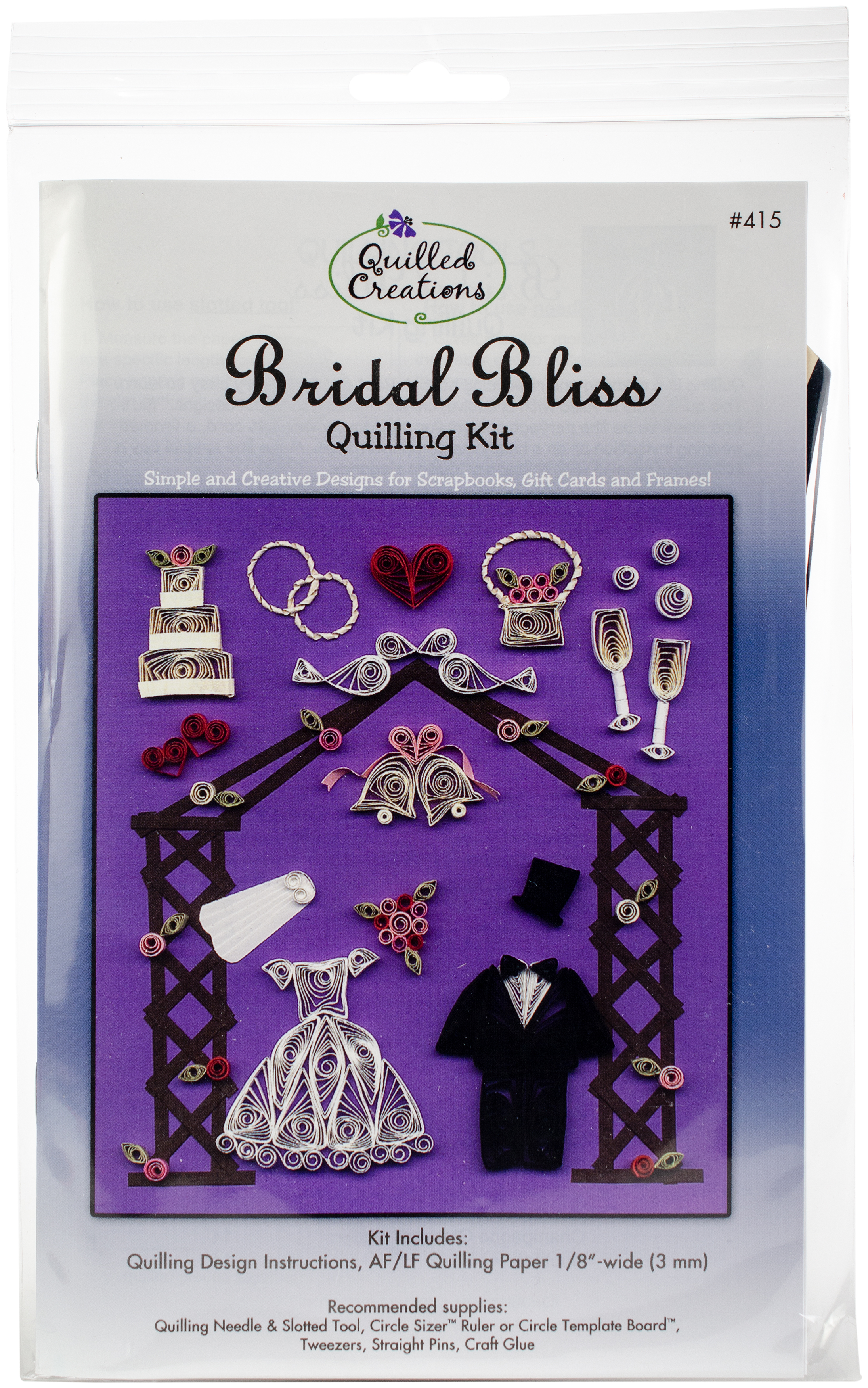 Quilling Kit Bridal Bliss