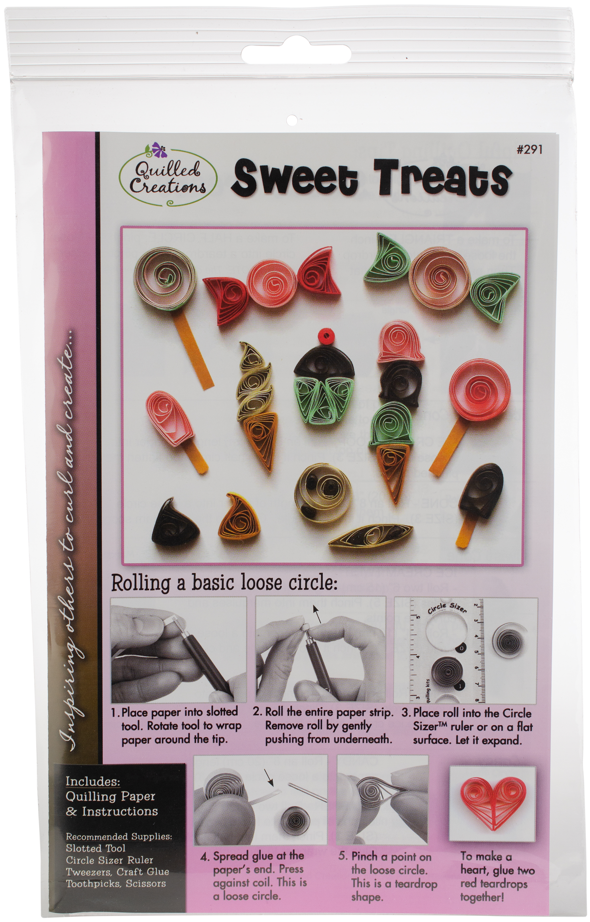 Quilling Kit Sweet Treats