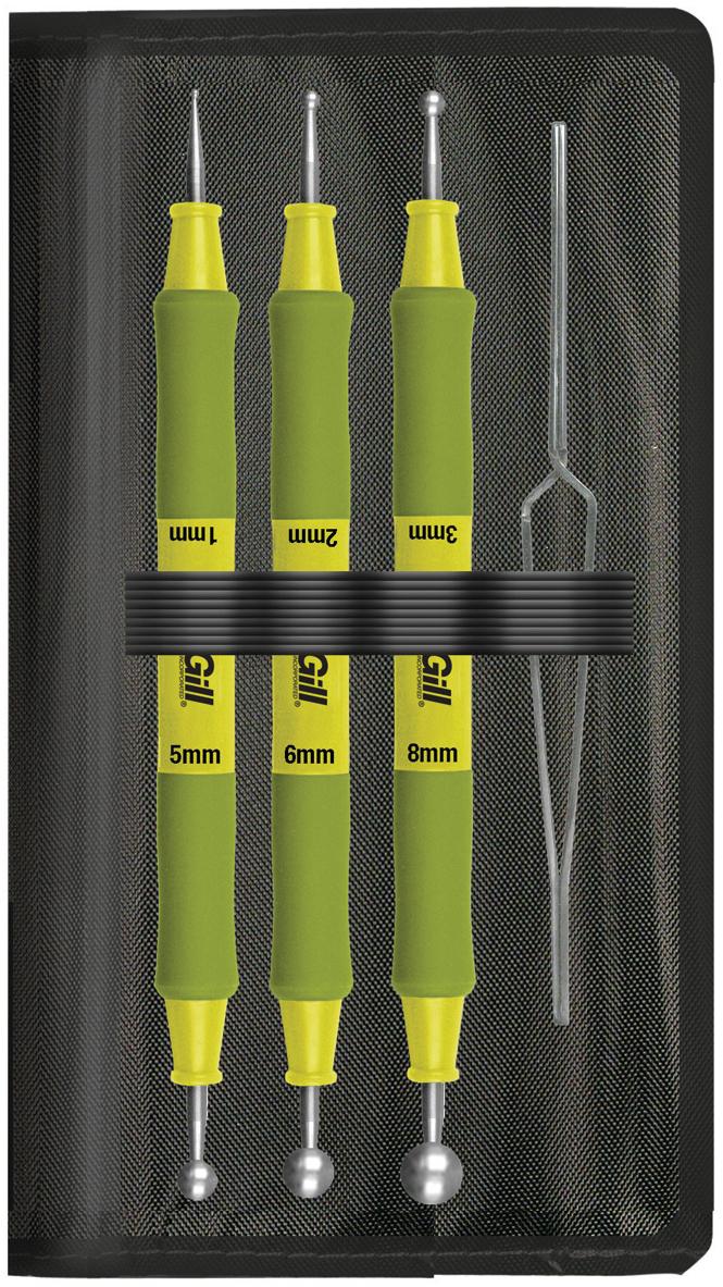 Paper Blossom Tool Kit 4/Pkg-Ball Tools