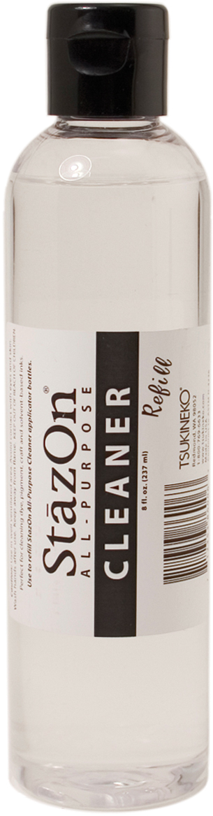 StazOn All-Purpose Cleaner 8oz Bottle-Clear