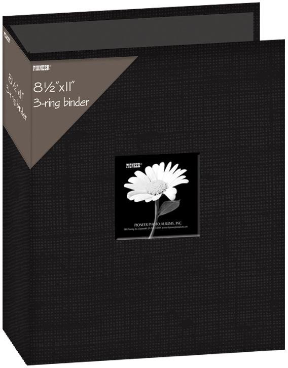 PIONEER 3 RING 8.5X11 BINDER ALBUM