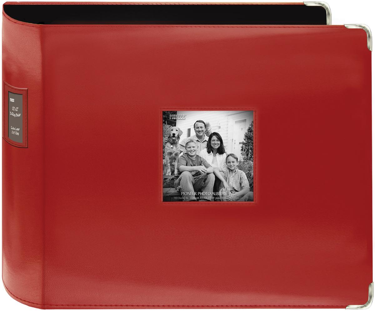 ALBUM 12X12 3 RING RED