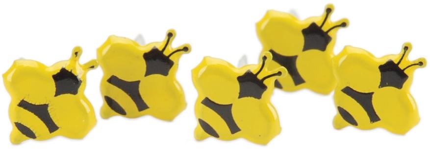 Mini Bee Brads