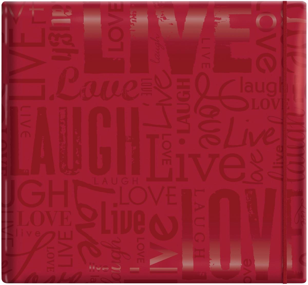 MBI Gloss Post Bound Album 12X12 Red