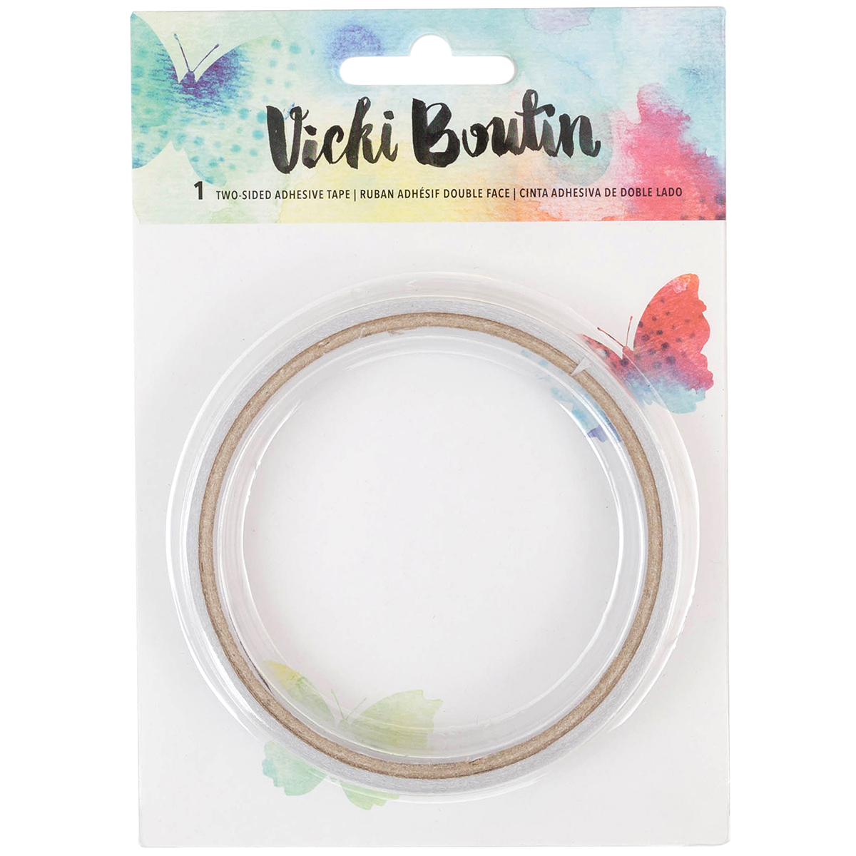 Vicki Boutin Mixed Media Double-Sided Tape-Permanent 5 Yards