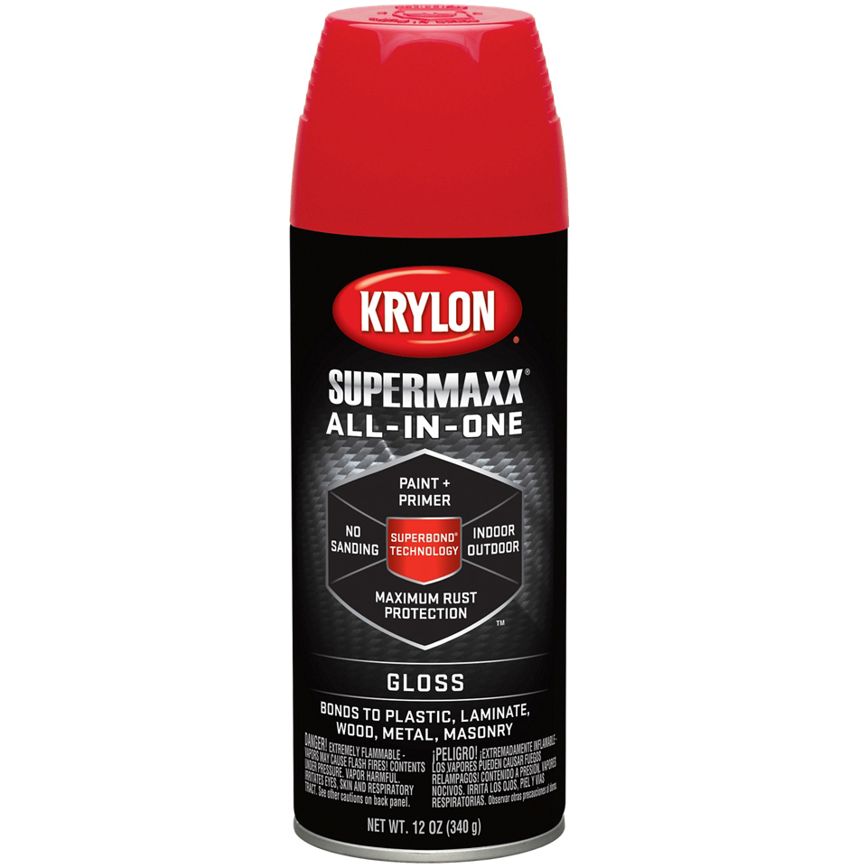 SuperMaxx Paint 12oz-Banner Red