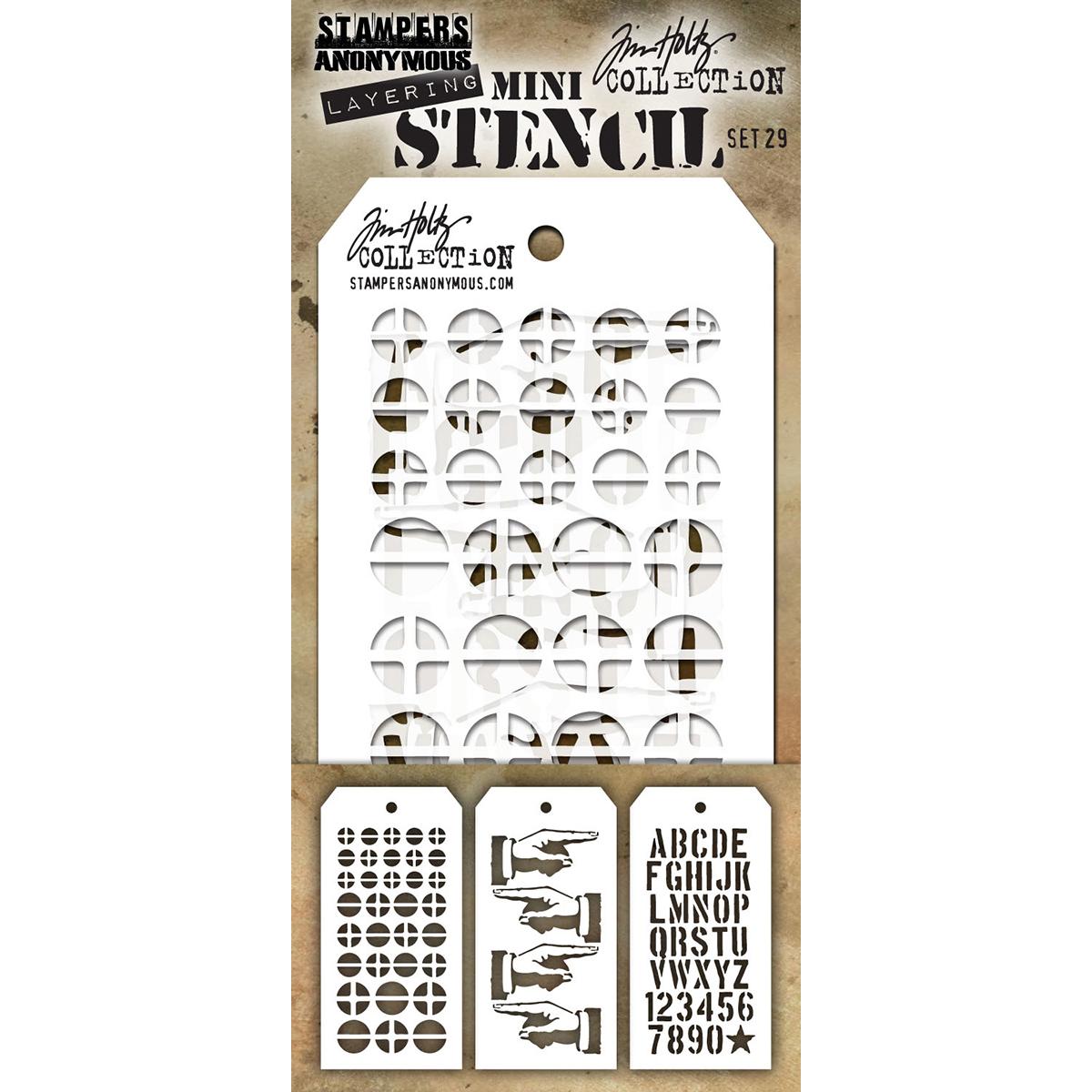 TH #29 Mini Stencil Set