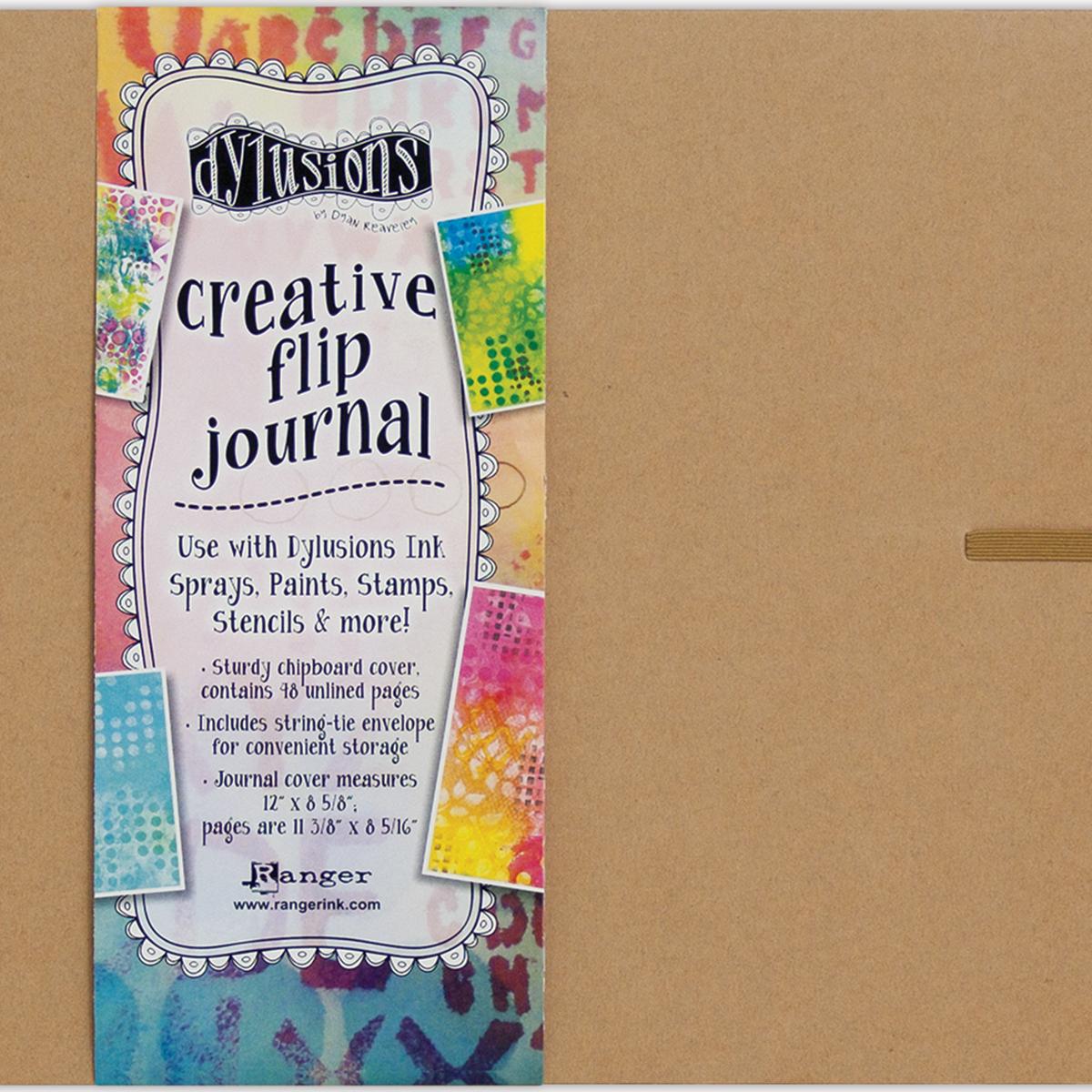 Dylusions Creative Flip Journal 8x12