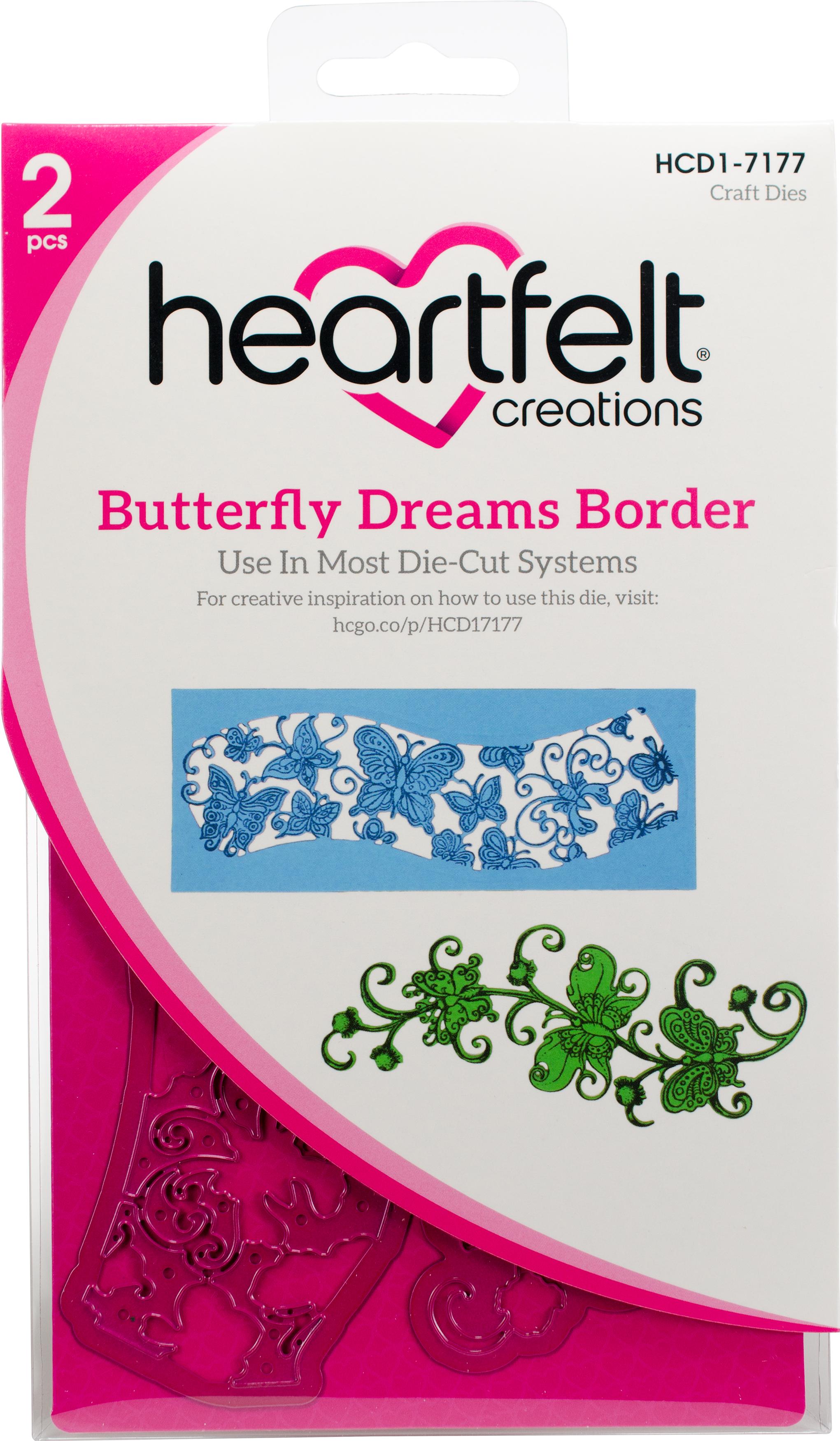 Butterfly Dreams Border Die
