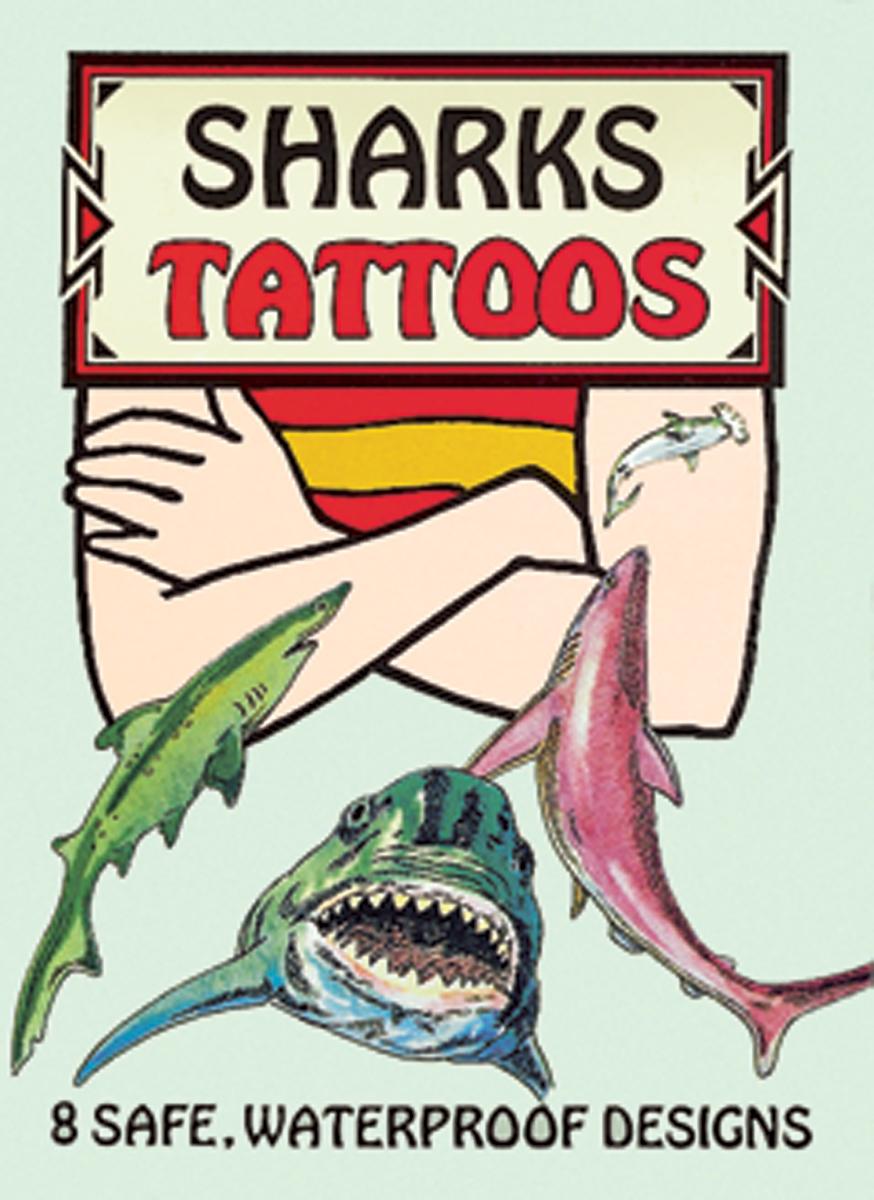 Dover Publications-Sharks Tattoos