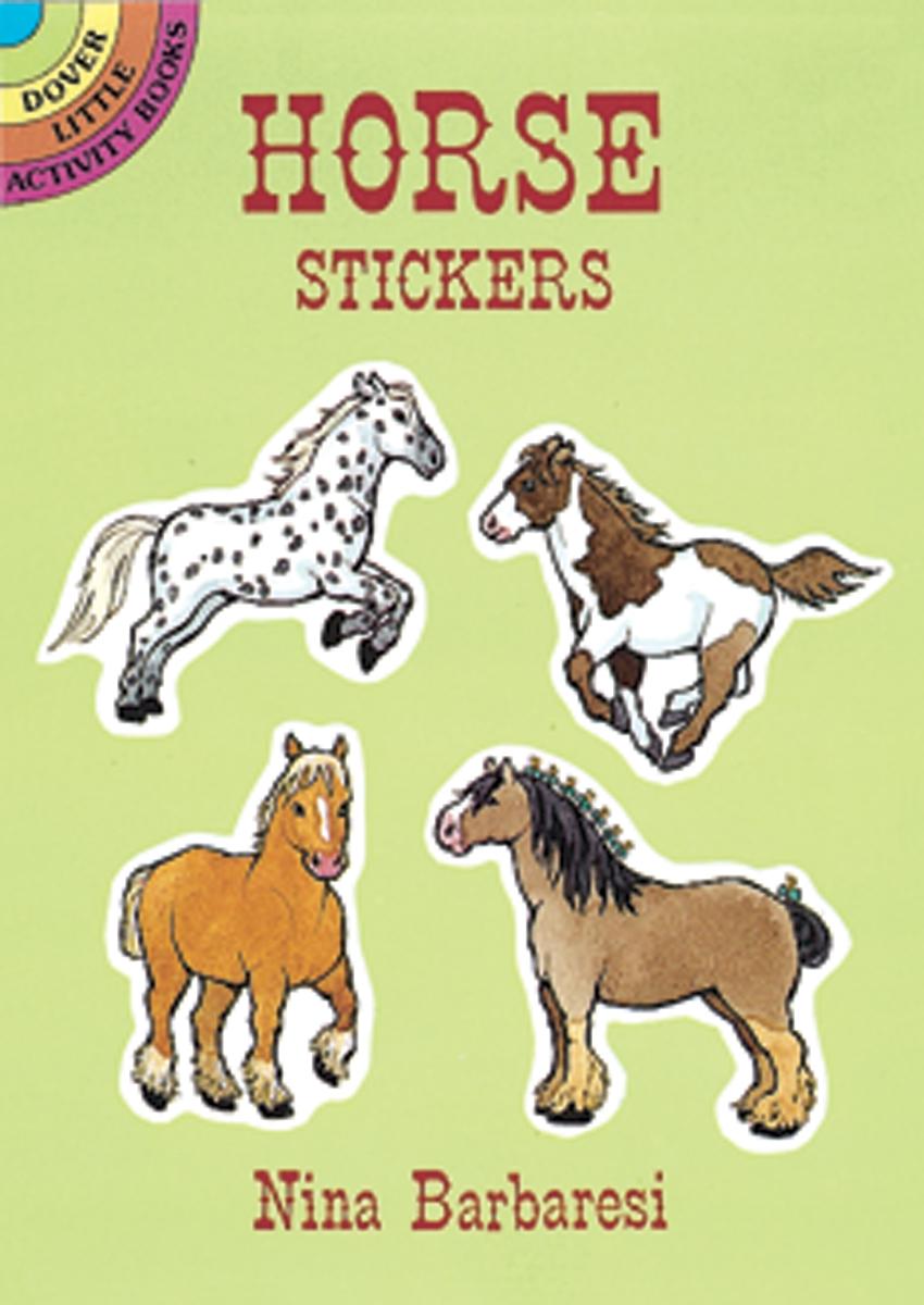LITTLE STICKER BOOK HORSE