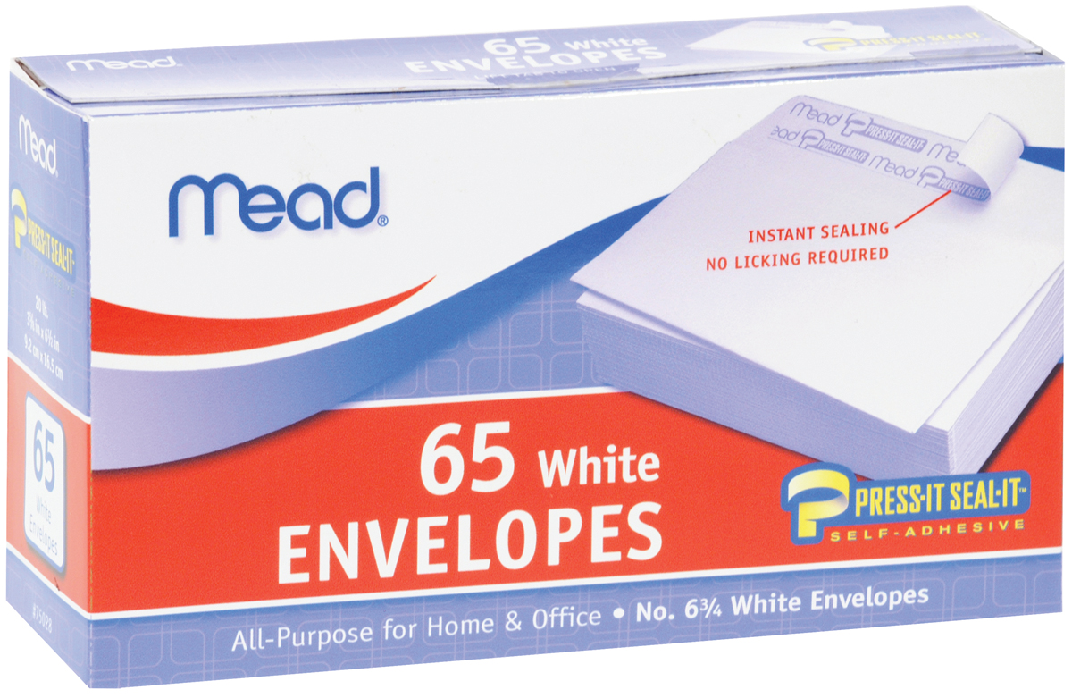 ENVELOPES, BOXES, PLAIN #6-3/4