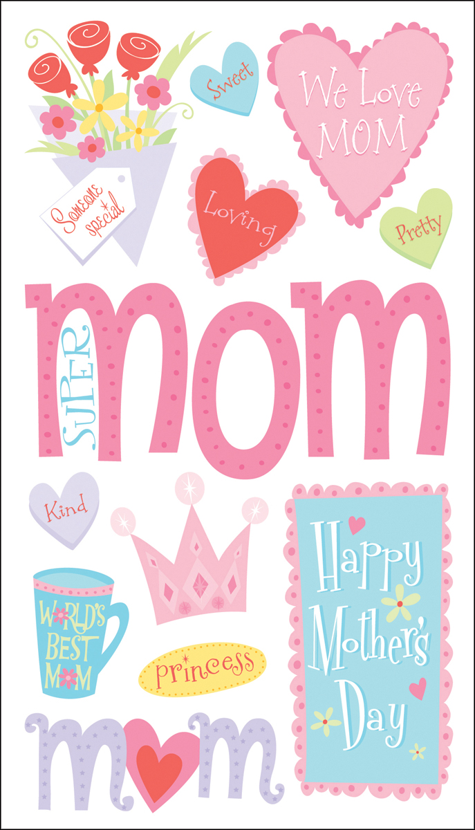 Sticko Stickers-Happy Mother's Day
