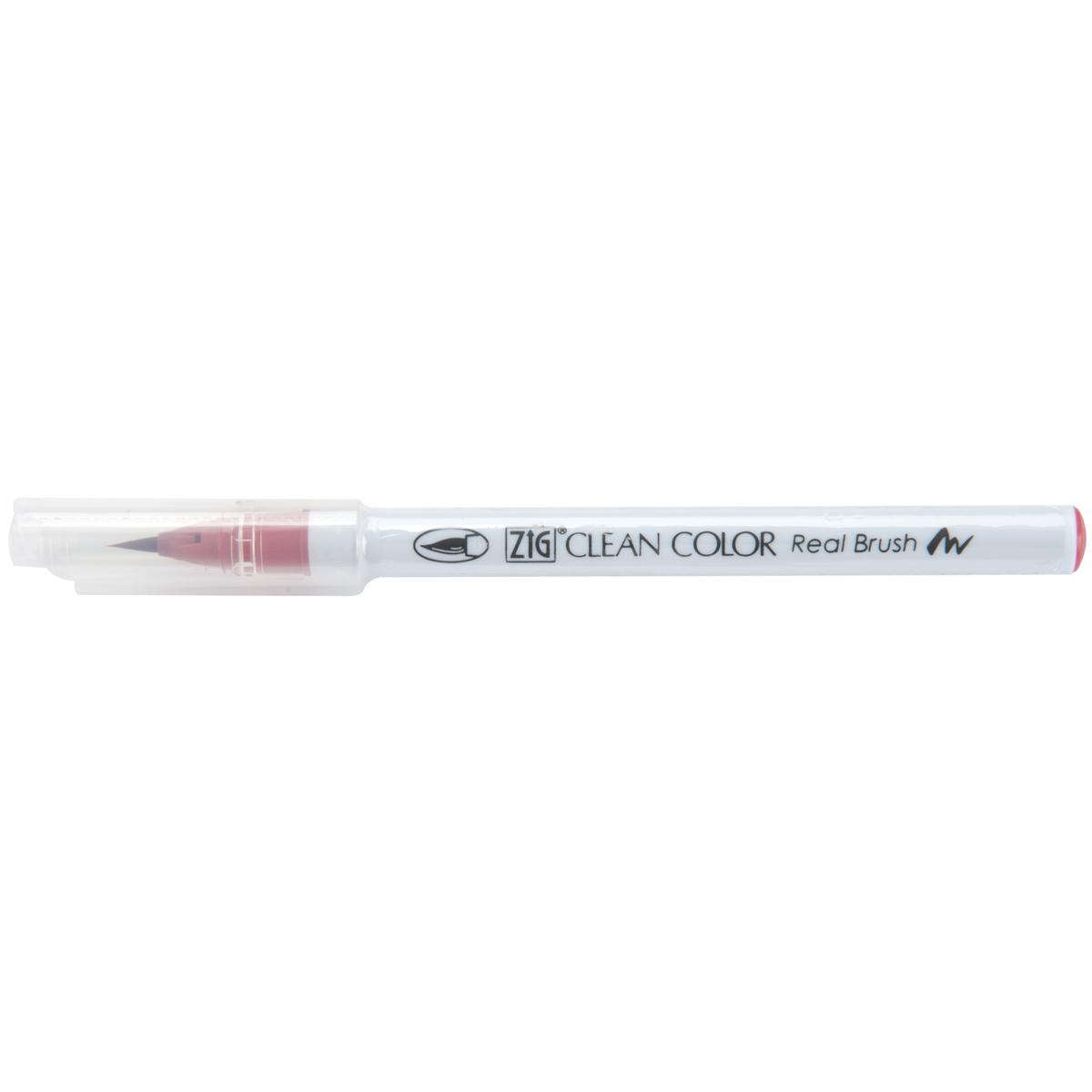 Kuretake ZIG Clean Color Real Brush Marker-Geranium Red