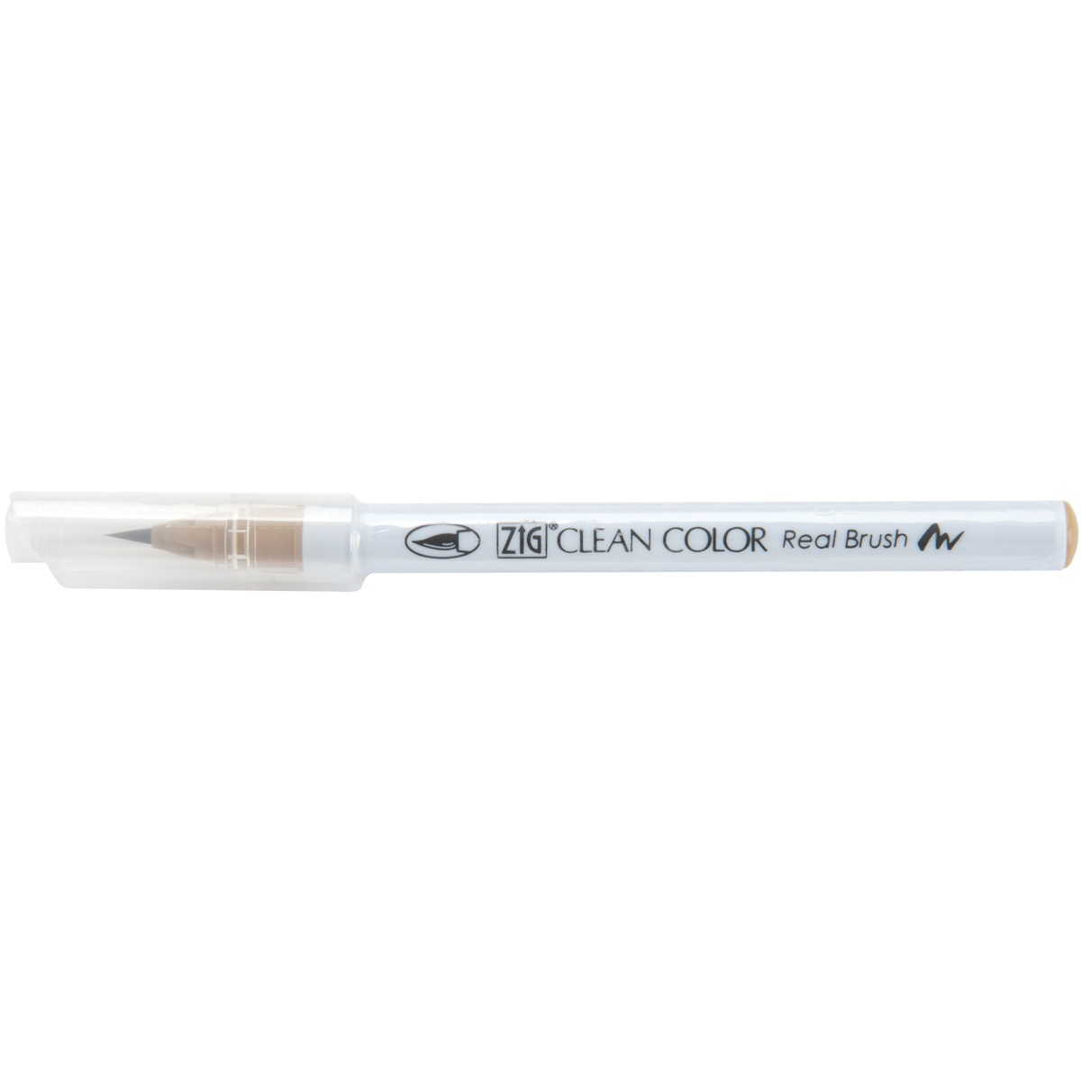 beige clean color real brush