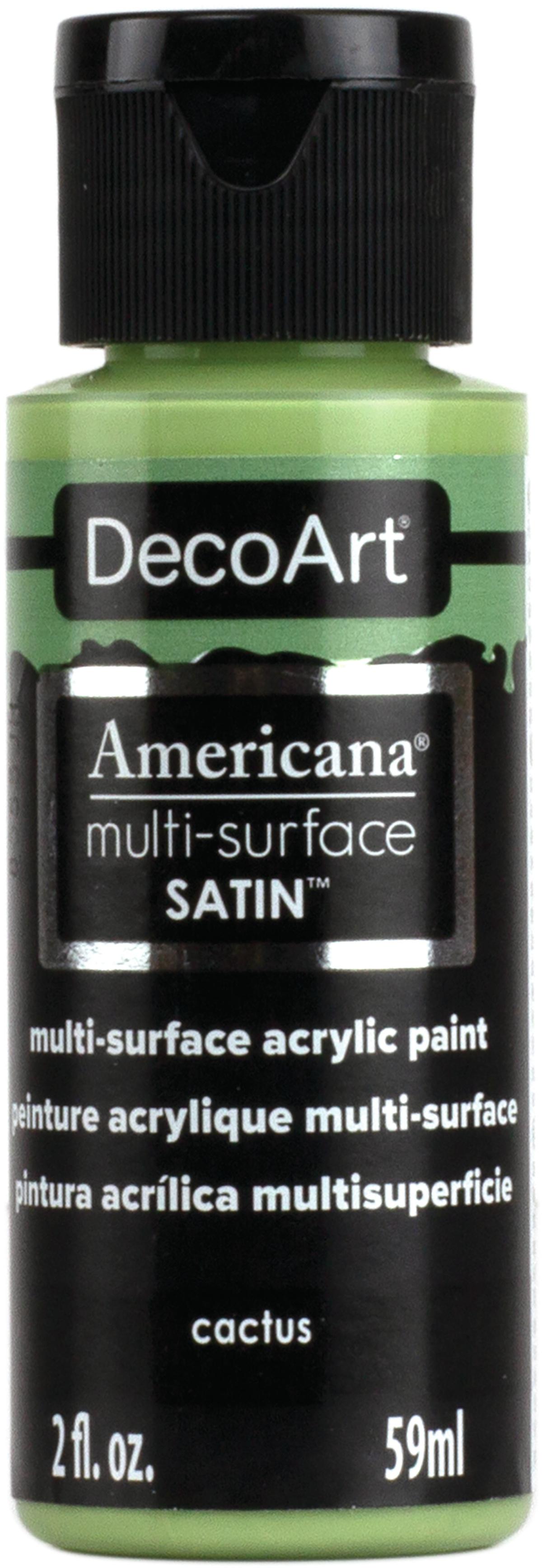 Americana Multi-Surface Satin Acrylic Paint 2oz-Cactus