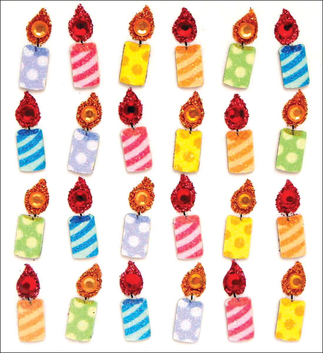 Birthday Candle Repeats