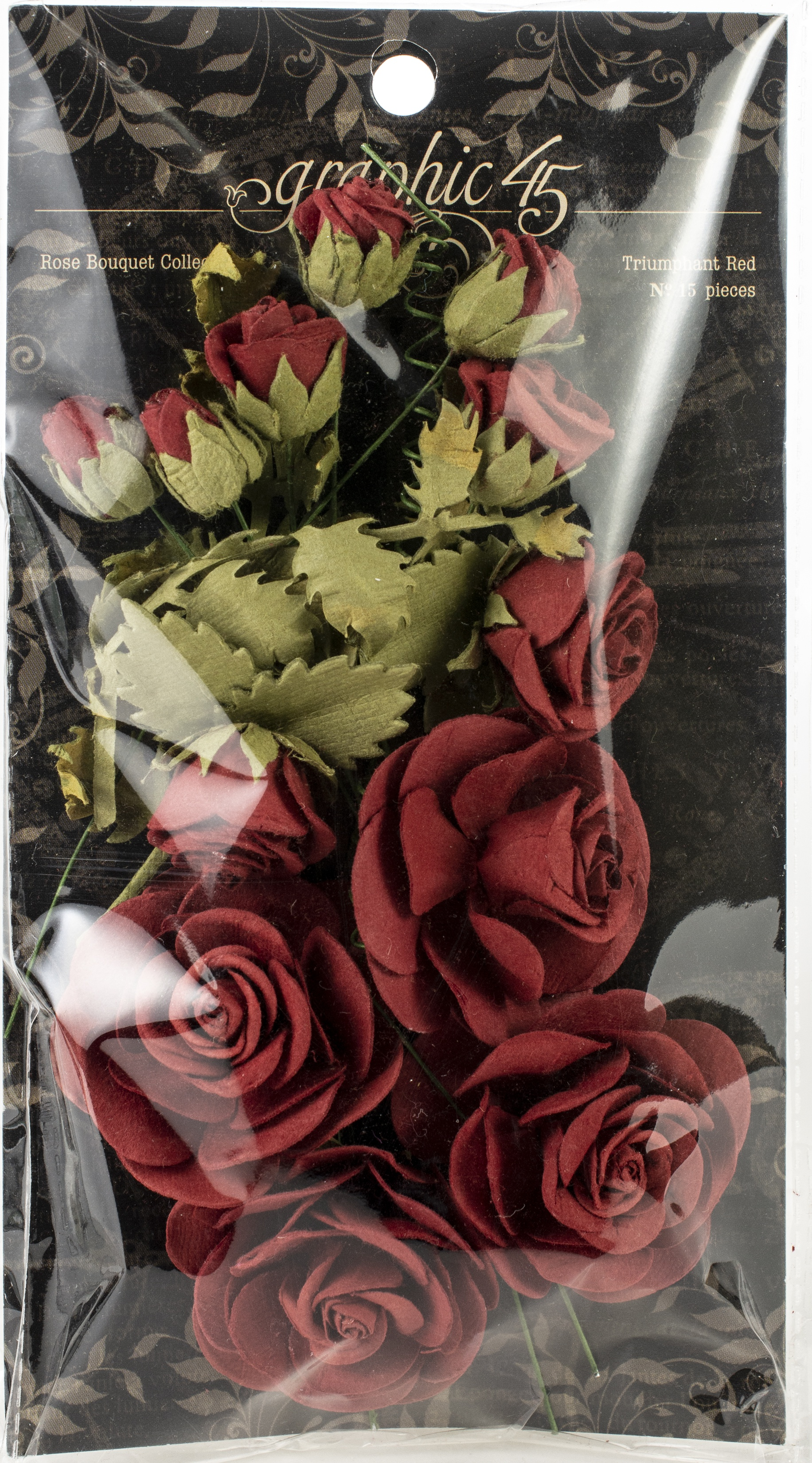 Rose Bouquet Collection-Tiumphant Red