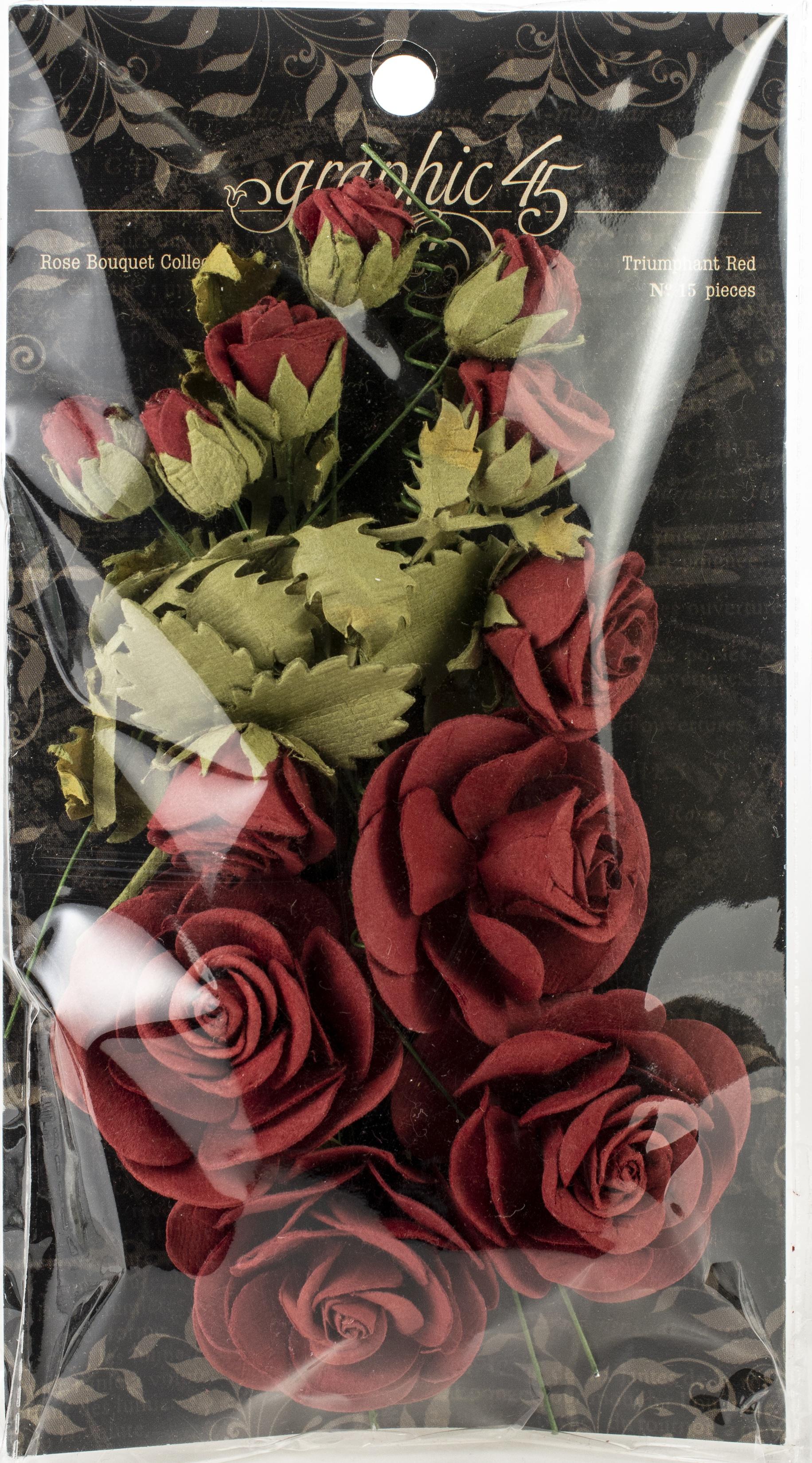 Rose Bouquet Triumphant Red