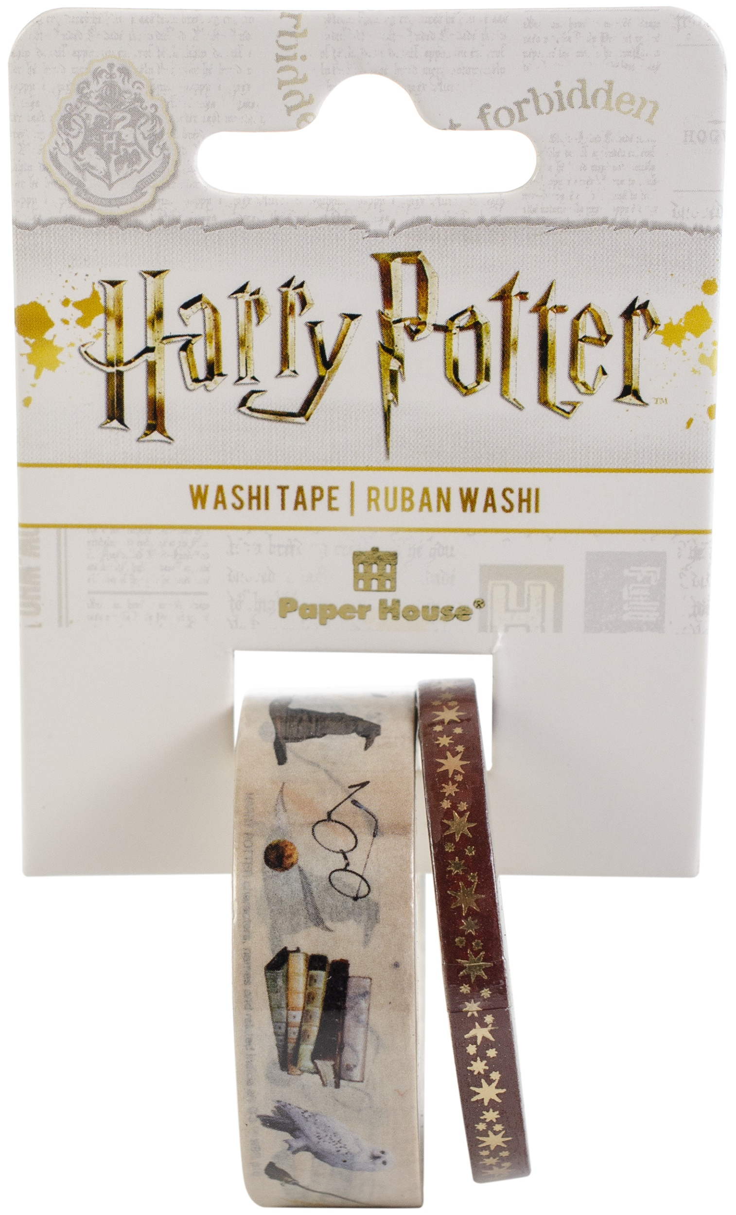 Paper House Washi Tape - Harry Potter, Icons