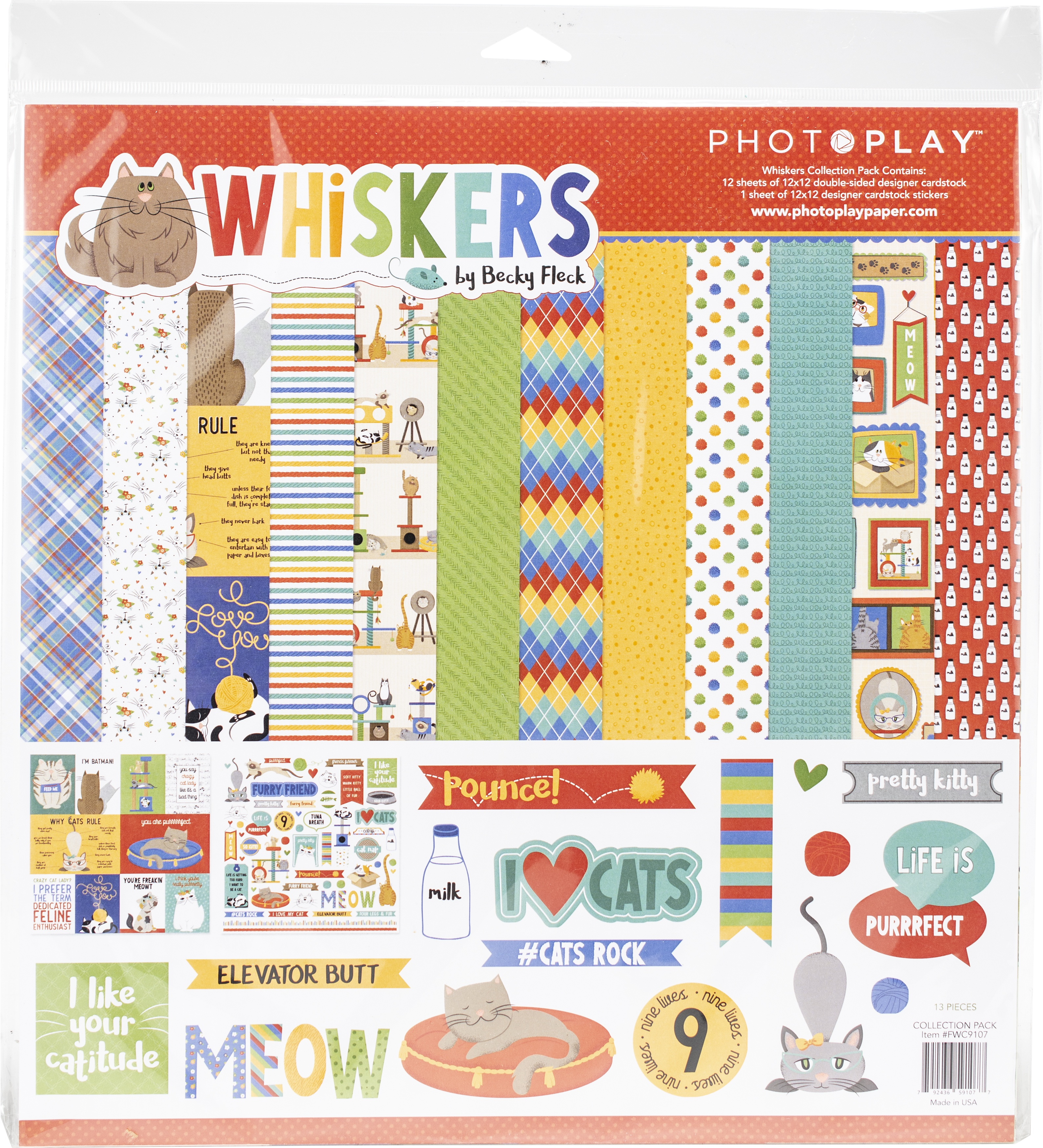 PhotoPlay Whiskers Collection Pack