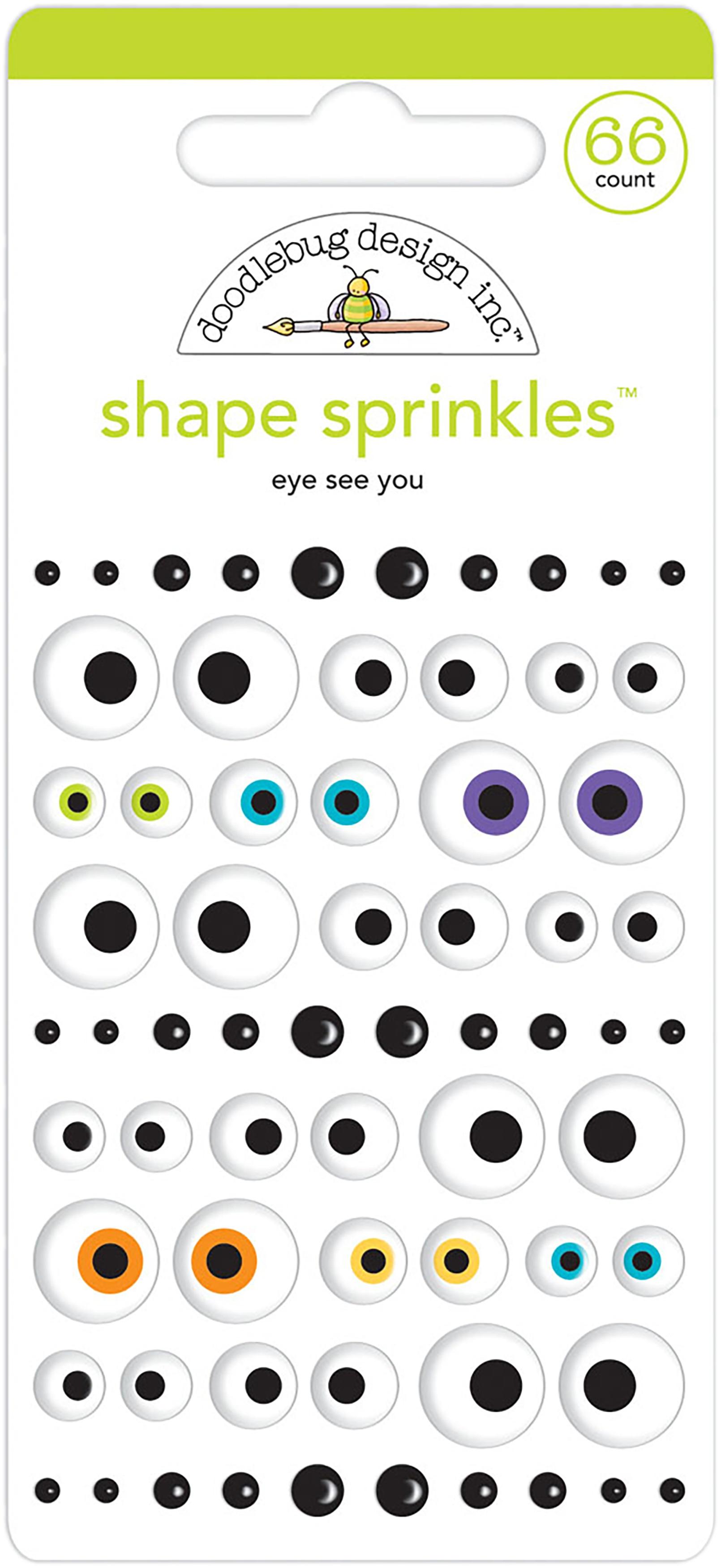 Candy Carnival Eye See You Enamel Shapes