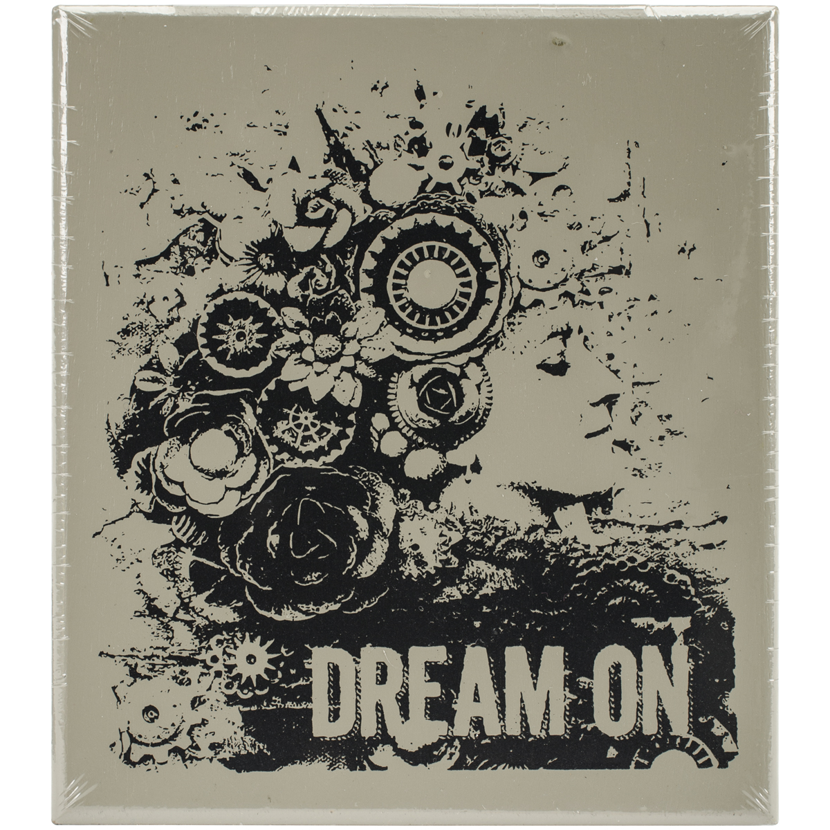 Finnabair Wood Mounted Stamps 2.9X3.4-Dream On