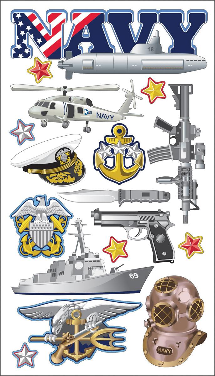 Sticko Navy