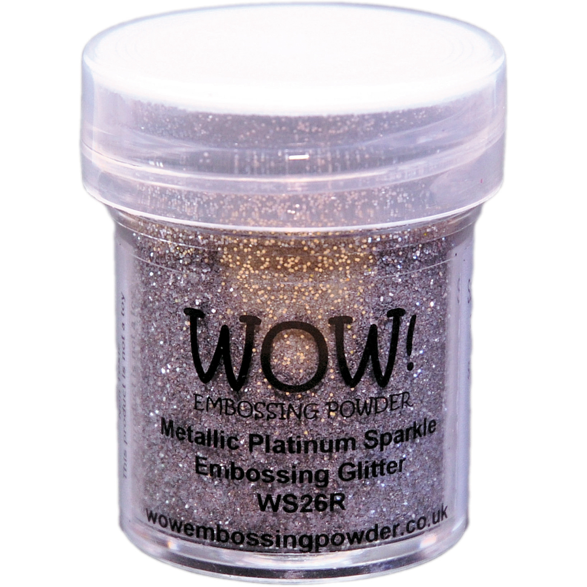 WOW Metallic Platinum Sparkle