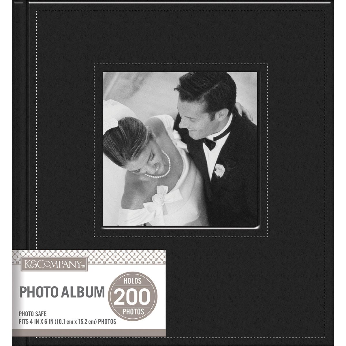 BLACK     -MEMO ALBUM 2UP 8X9